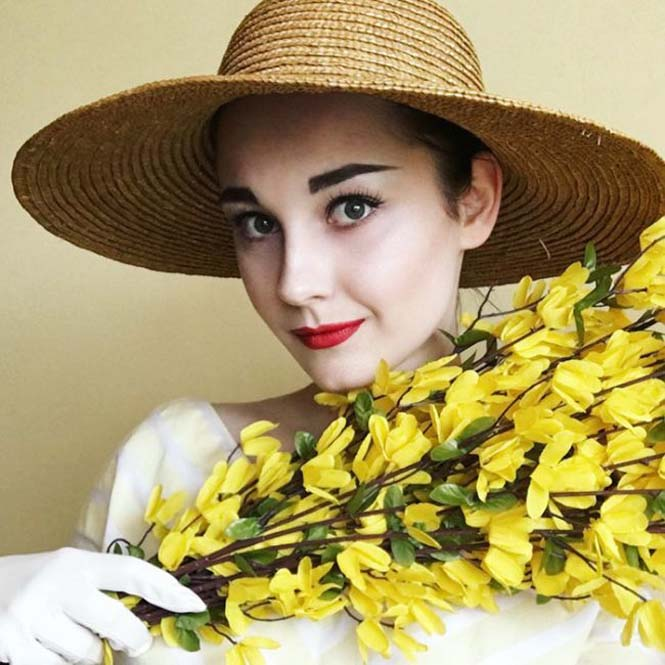 17χρονη έχει ταλέντο στις vintage εμφανίσεις (9)