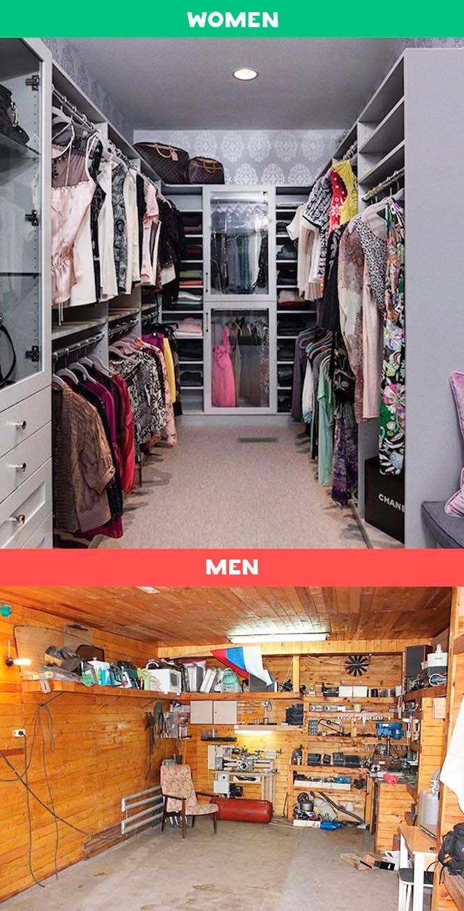 Άνδρες vs Γυναίκες: 10 χιουμοριστικές εικόνες με τις διαφορές των δυο φύλων (6)