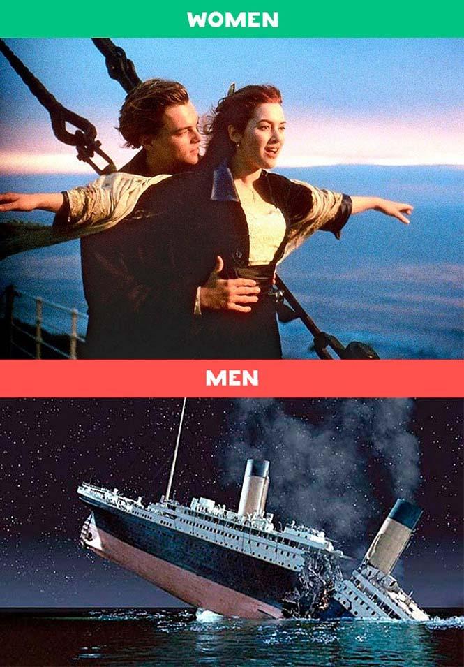 Άνδρες vs Γυναίκες: 10 χιουμοριστικές εικόνες με τις διαφορές των δυο φύλων (9)