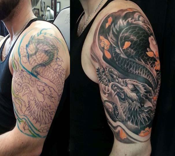 Αποτυχημένα τατουάζ που μετατράπηκαν σε κάτι εντυπωσιακό (8)