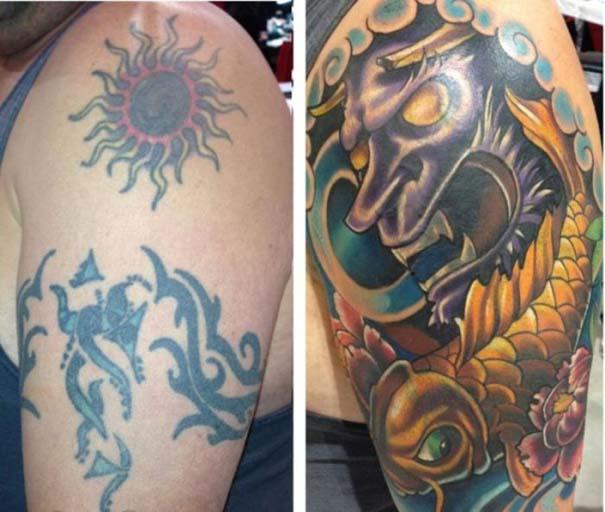 Αποτυχημένα τατουάζ που μετατράπηκαν σε κάτι εντυπωσιακό (9)