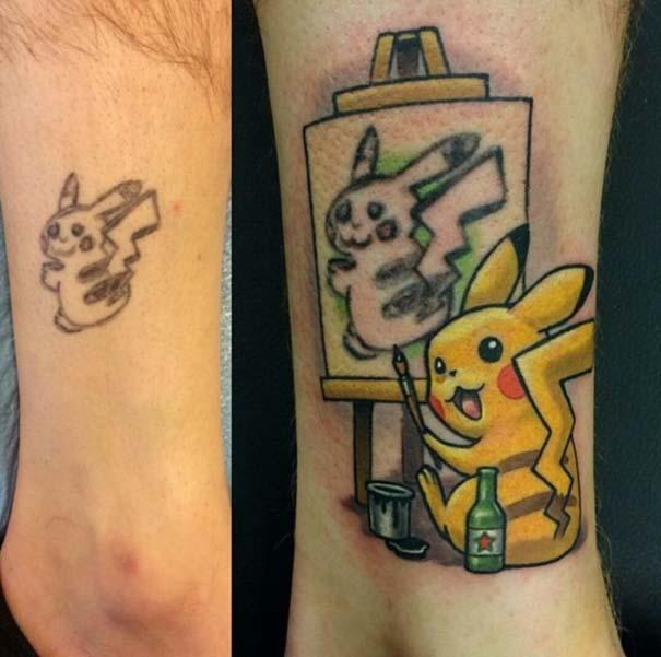 Αποτυχημένα τατουάζ που μετατράπηκαν σε κάτι εντυπωσιακό (14)