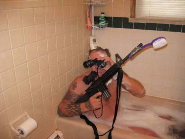 Αστεία και παράξενα στο μπάνιο (9)