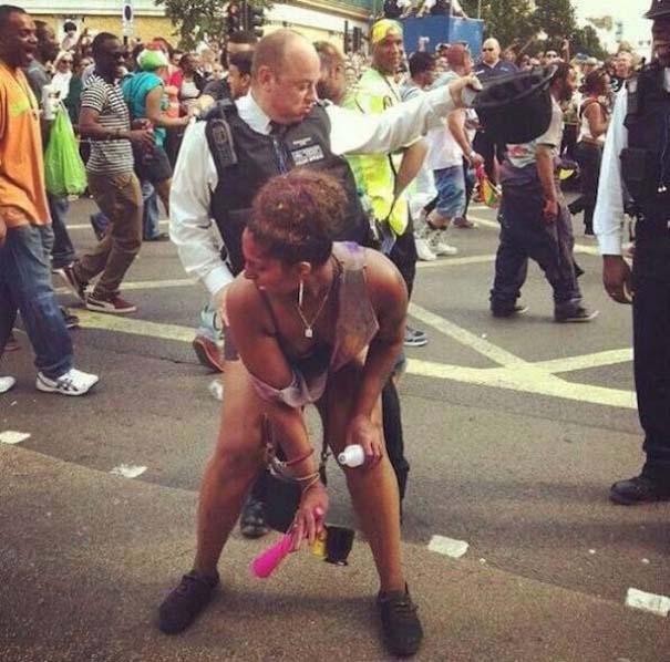 Διασκεδαστικές στιγμές με την μητροπολιτική αστυνομία του Λονδίνου (3)