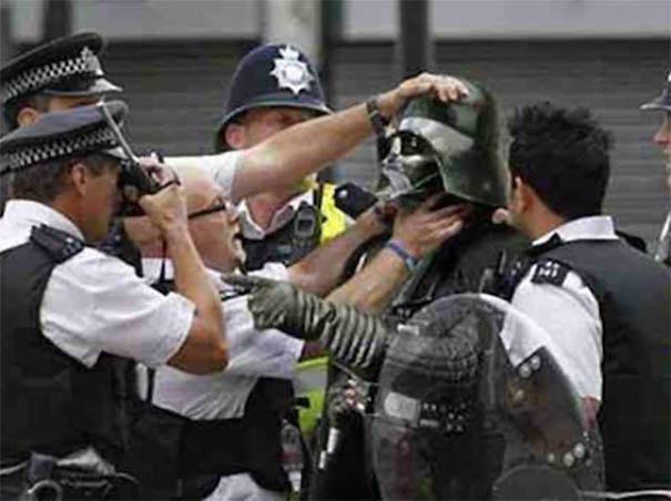 Διασκεδαστικές στιγμές με την μητροπολιτική αστυνομία του Λονδίνου (14)