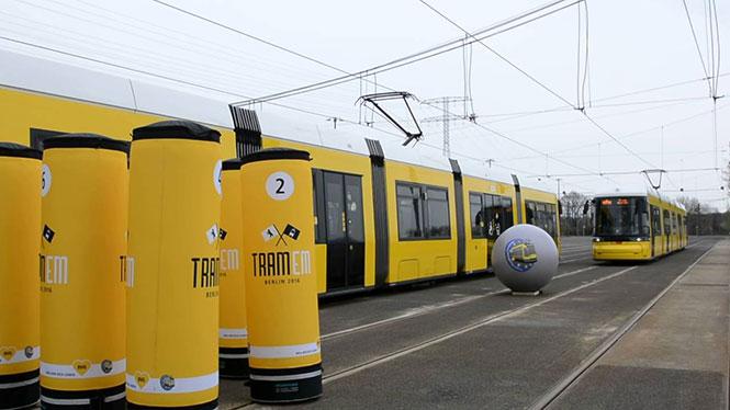 Διασκεδαστική χρήση του τραμ