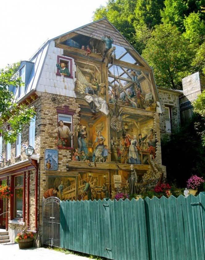 15 εκπληκτικά έργα τέχνης του δρόμου που γίνονται ένα με την πόλη (8)