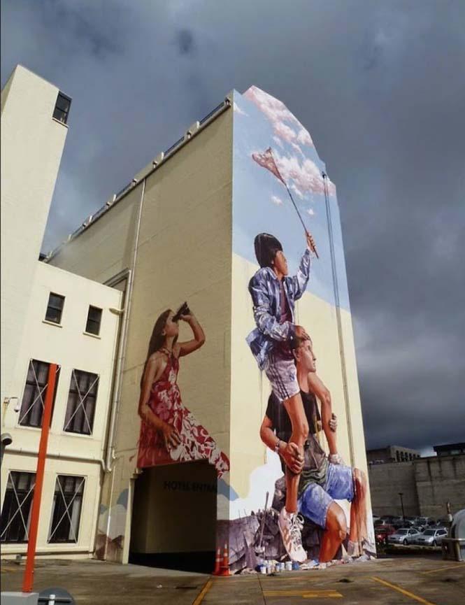 15 εκπληκτικά έργα τέχνης του δρόμου που γίνονται ένα με την πόλη (9)