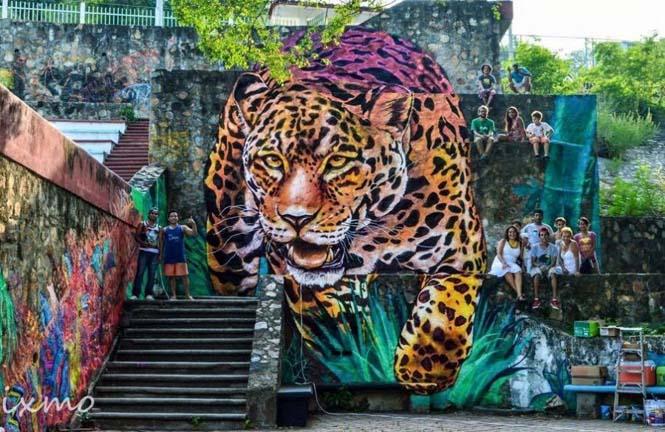 15 εκπληκτικά έργα τέχνης του δρόμου που γίνονται ένα με την πόλη (10)