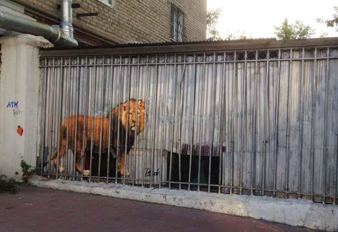 15 εκπληκτικά έργα τέχνης του δρόμου που γίνονται ένα με την πόλη (13)