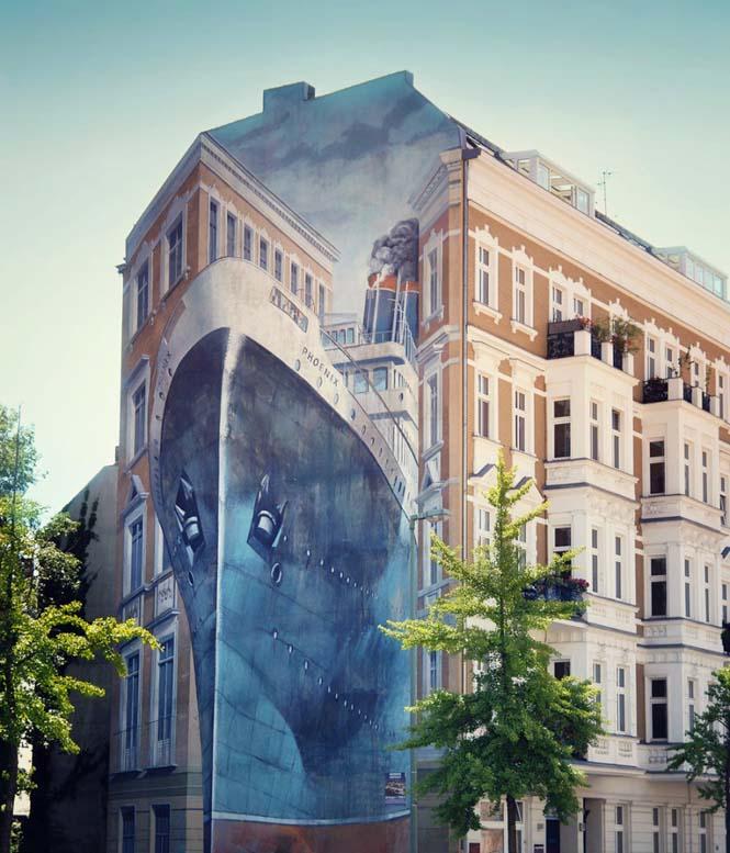 15 εκπληκτικά έργα τέχνης του δρόμου που γίνονται ένα με την πόλη (15)
