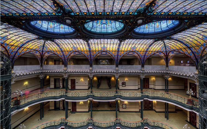 Εκπληκτικές οροφές εσωτερικών χώρων που κερδίζουν τις εντυπώσεις (2)