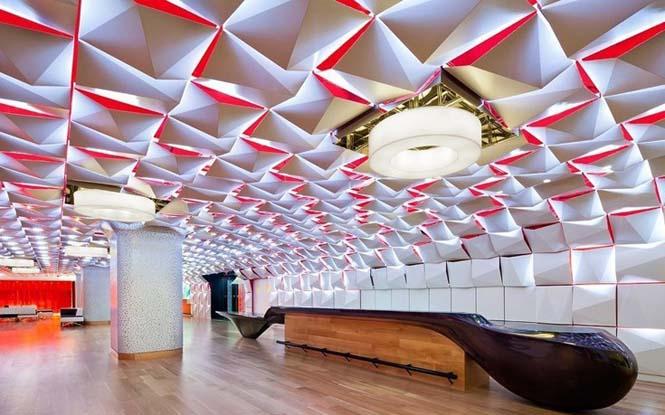 Εκπληκτικές οροφές εσωτερικών χώρων που κερδίζουν τις εντυπώσεις (5)
