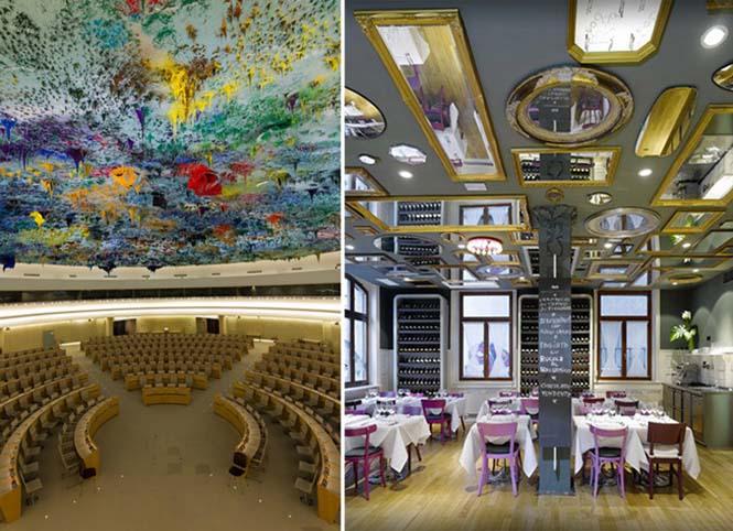 Εκπληκτικές οροφές εσωτερικών χώρων που κερδίζουν τις εντυπώσεις (7)