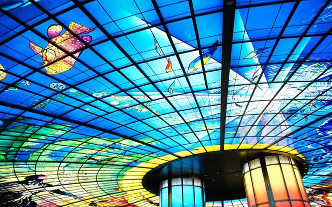 Εκπληκτικές οροφές εσωτερικών χώρων που κερδίζουν τις εντυπώσεις (8)