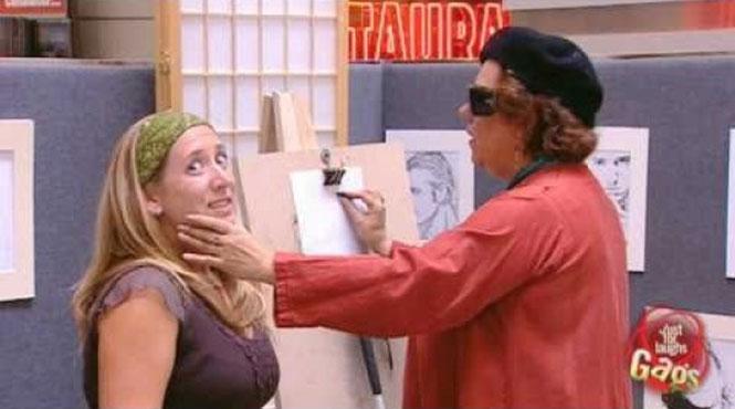 Φάρσα με «τυφλή» ζωγράφο