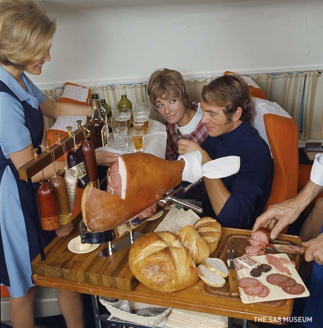 Γεύματα των πτήσεων μιας άλλης εποχής (2)