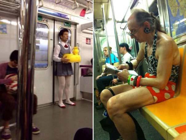 Παράξενες και κωμικοτραγικές φωτογραφίες στα μέσα μεταφοράς #13 (4)