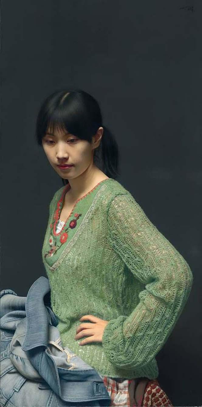 Η λεπτομέρεια σε αυτούς τους πίνακες ζωγραφικής του Leng Jun είναι εκπληκτική (1)