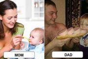 Μαμάδες και μπαμπάδες σε ξεκαρδιστικές φωτογραφίες #2 (1)