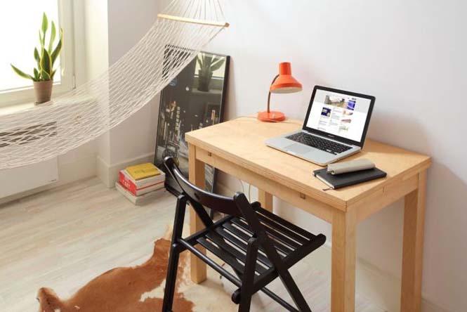 Ακόμα και ένα μικροσκοπικό διαμέρισμα είναι τέλειο αν το οργανώσεις σωστά (3)
