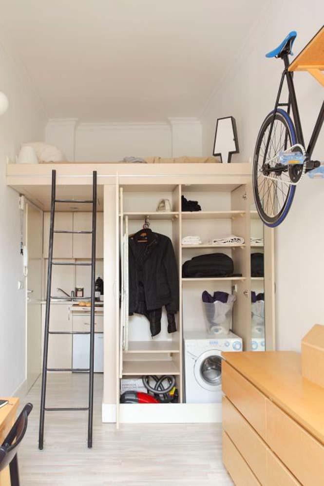 Ακόμα και ένα μικροσκοπικό διαμέρισμα είναι τέλειο αν το οργανώσεις σωστά (4)