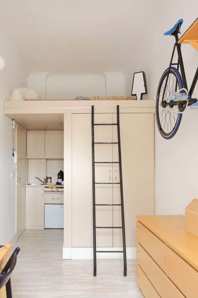 Ακόμα και ένα μικροσκοπικό διαμέρισμα είναι τέλειο αν το οργανώσεις σωστά (5)