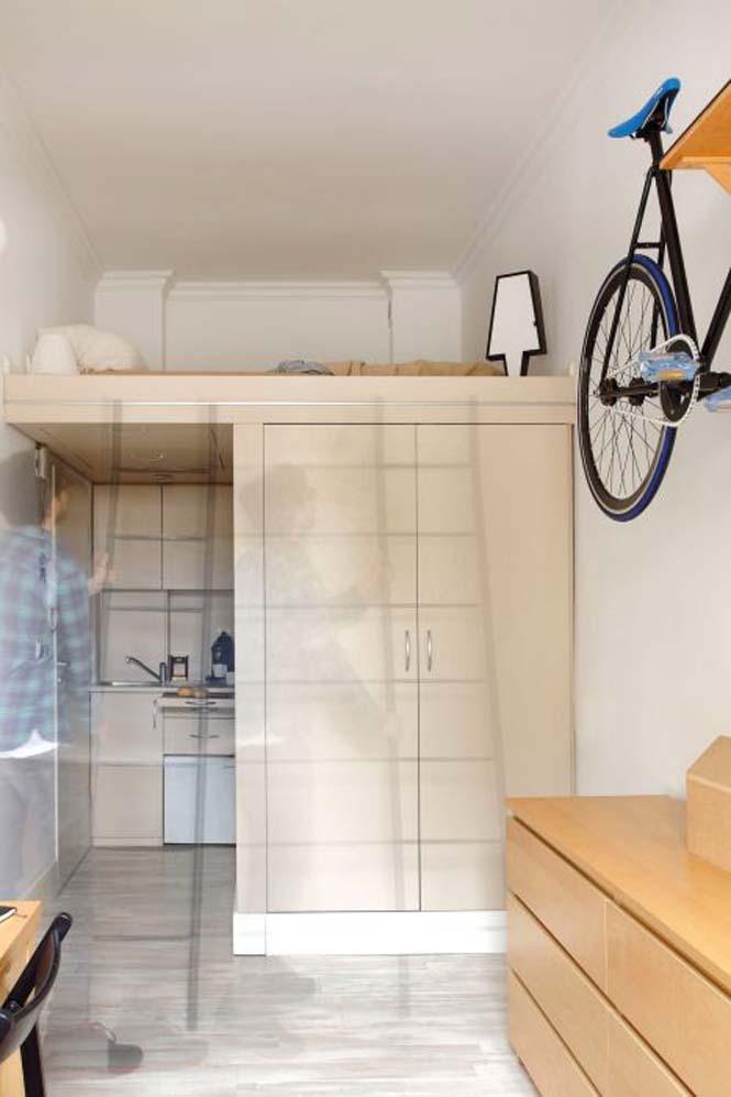 Ακόμα και ένα μικροσκοπικό διαμέρισμα είναι τέλειο αν το οργανώσεις σωστά (6)