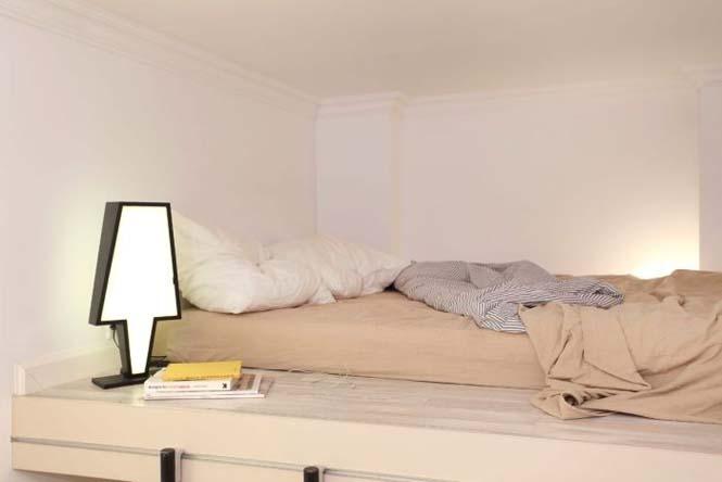 Ακόμα και ένα μικροσκοπικό διαμέρισμα είναι τέλειο αν το οργανώσεις σωστά (7)