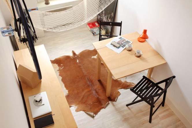 Ακόμα και ένα μικροσκοπικό διαμέρισμα είναι τέλειο αν το οργανώσεις σωστά (8)