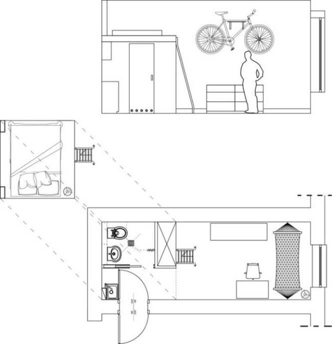 Ακόμα και ένα μικροσκοπικό διαμέρισμα είναι τέλειο αν το οργανώσεις σωστά (11)