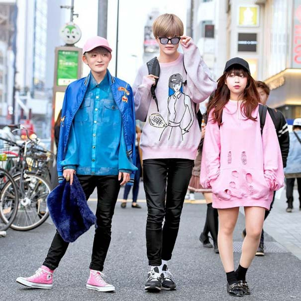 Η μόδα στους δρόμους του Τόκιο #5 (2)