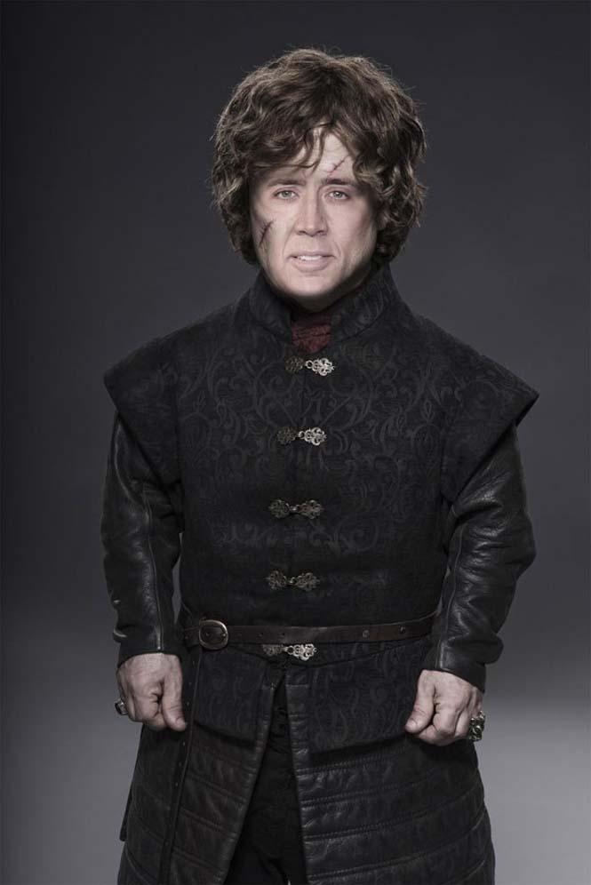 Αν ο Nicolas Cage πρωταγωνιστούσε σε όλους τους ρόλους του Game of Thrones (2)