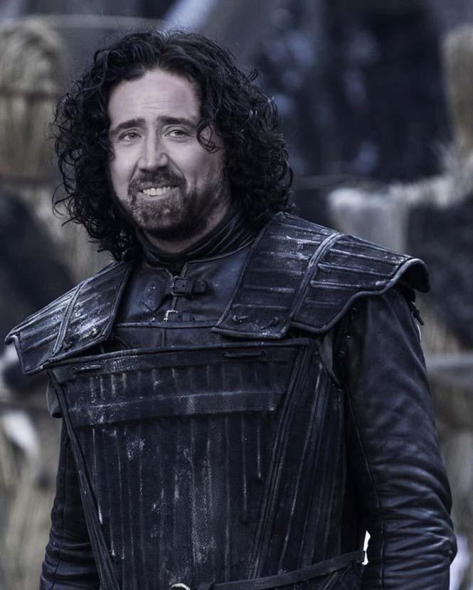 Αν ο Nicolas Cage πρωταγωνιστούσε σε όλους τους ρόλους του Game of Thrones (3)