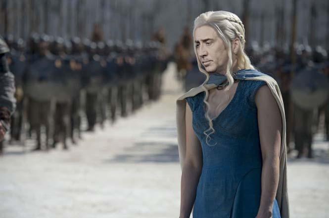 Αν ο Nicolas Cage πρωταγωνιστούσε σε όλους τους ρόλους του Game of Thrones (4)