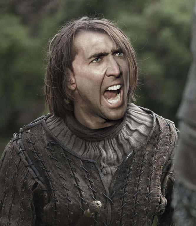 Αν ο Nicolas Cage πρωταγωνιστούσε σε όλους τους ρόλους του Game of Thrones (8)