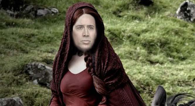 Αν ο Nicolas Cage πρωταγωνιστούσε σε όλους τους ρόλους του Game of Thrones (22)