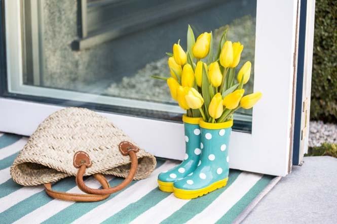 Όμορφες ιδέες για να διακοσμήσετε το σπίτι σας με λουλούδια (8)