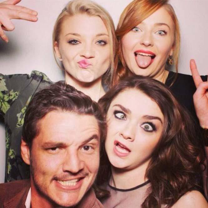 Όταν οι πρωταγωνιστές του Game Of Thrones χαλαρώνουν (21)