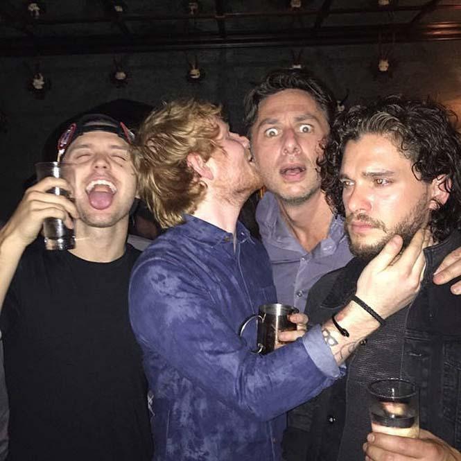 Όταν οι πρωταγωνιστές του Game Of Thrones χαλαρώνουν (32)