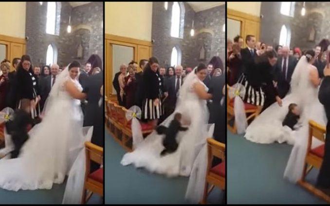 Παιδάκια που βαρέθηκαν τον γάμο