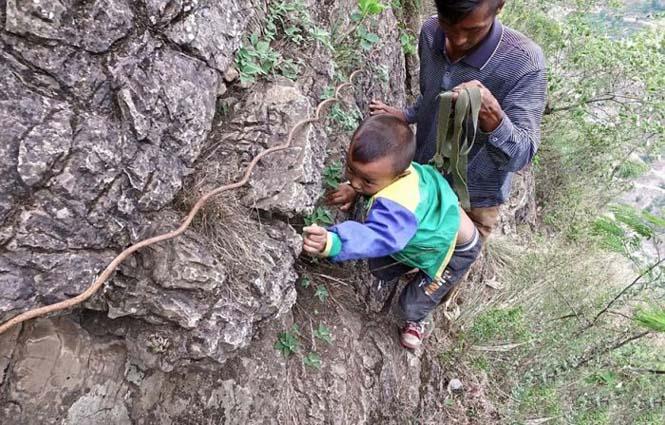Τα παιδιά αυτού του απομακρυσμένου χωριού στην Κίνα πάνε σχολείο (7)