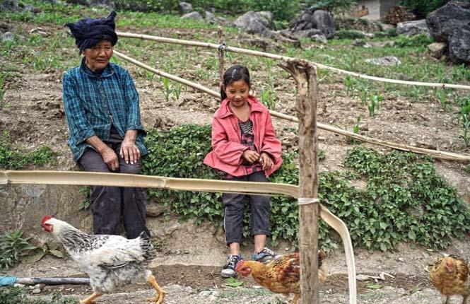 Τα παιδιά αυτού του απομακρυσμένου χωριού στην Κίνα πάνε σχολείο (10)