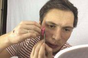 Πως δημιουργούνται οι ουλές και τα κοψίματα με μακιγιάζ ειδικών εφέ (20)