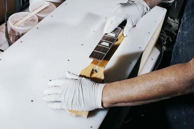 Πως φτιάχνονται οι κιθάρες Gibson Les Paul (3)