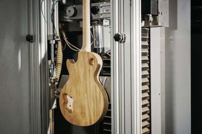 Πως φτιάχνονται οι κιθάρες Gibson Les Paul (5)
