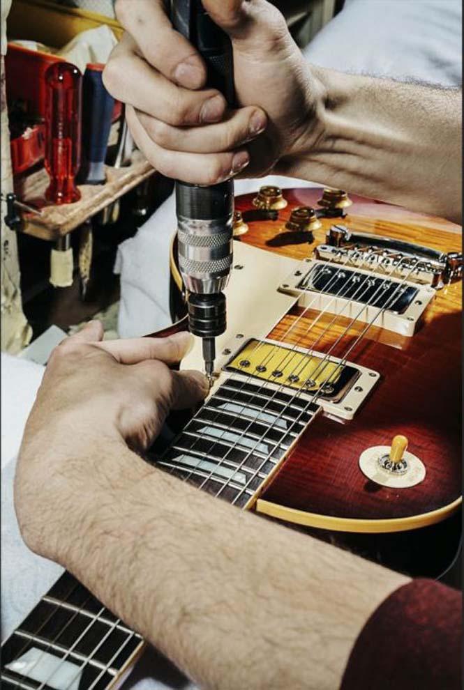 Πως φτιάχνονται οι κιθάρες Gibson Les Paul (11)
