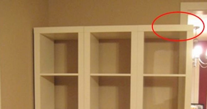 Τα ράφια από το ΙΚΕΑ δεν χωρούσαν, αλλά βρέθηκε μια δημιουργική λύση... (1)