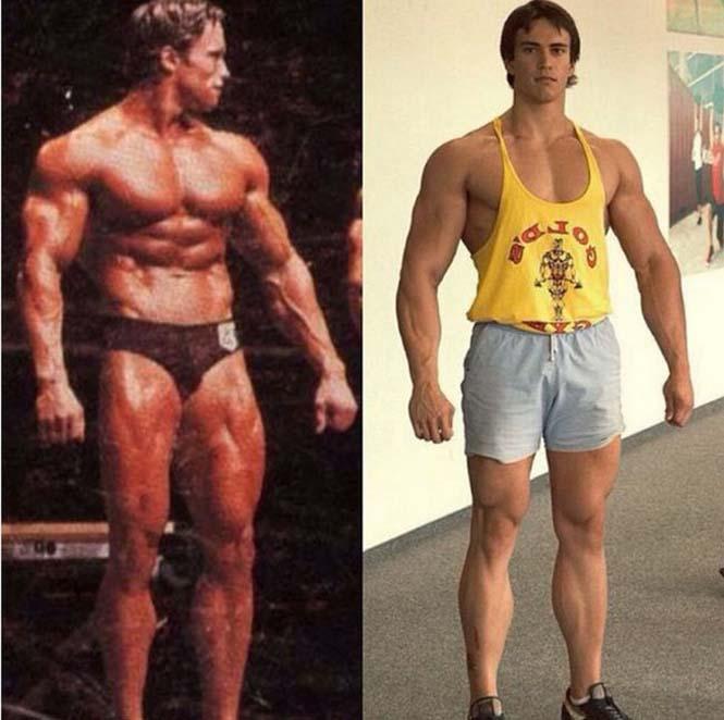 Ο Ρώσος bodybuilder που έχει εντυπωσιακή ομοιότητα με τον Arnold Schwarzenegger (2)