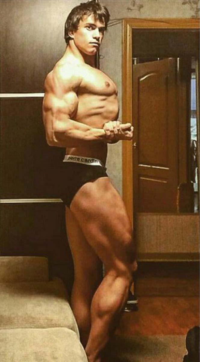 Ο Ρώσος bodybuilder που έχει εντυπωσιακή ομοιότητα με τον Arnold Schwarzenegger (9)